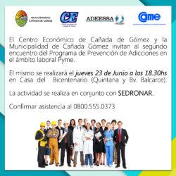 invitacion SEDRONAR
